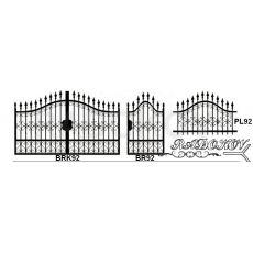 Kovaná brána cena
